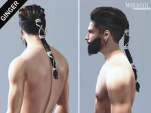 MIRROR - Ragnar Hair -Ginger Pack-