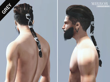 MIRROR - Ragnar Hair -Grey Pack-