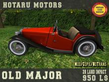 HOTARU MOTORS - Old Major [BOX]