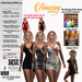 AmAzINg CrEaTiOnS 3 Mini Dress (DRA)-03-Tintable