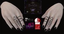 RudeCats - Fire Finger Tattoo