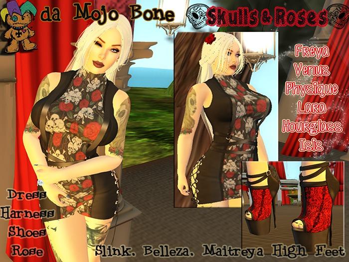 :mOjo.bOne: Skulls & Roses