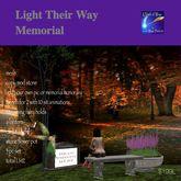 Light Their Way Memorial