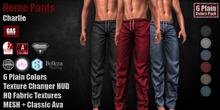 GAS [Home Pants Charlie  - 6 Plain Colors w/HUD PACK]