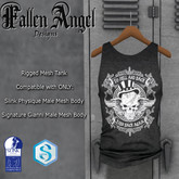 """F.A.D - Men's Tank """"To Hell & Back"""" -  SIGNATURE GIANNI & SLINK"""