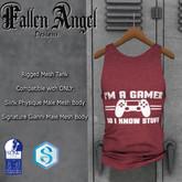 "F.A.D - Men's Tank ""Gamer"" -  SIGNATURE GIANNI & SLINK"