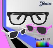 [Syn] Glasses (Color HUD, resizable)