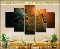 "Picture modular ""Nefertiti"" 100%mesh (full perm)."