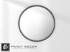 Fancy Decor: Circle Mirror (silver)
