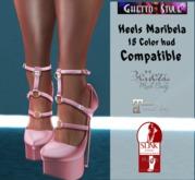 :::GHETTO STYLE:::  Heels Maribela 18 color