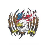 memorial day (Flag skinpopper) OMEGA back