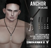 !NFINITY Anchor Necklace
