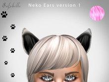 ANIMATED NEKO CAT EARS - Bento Update - light PINK