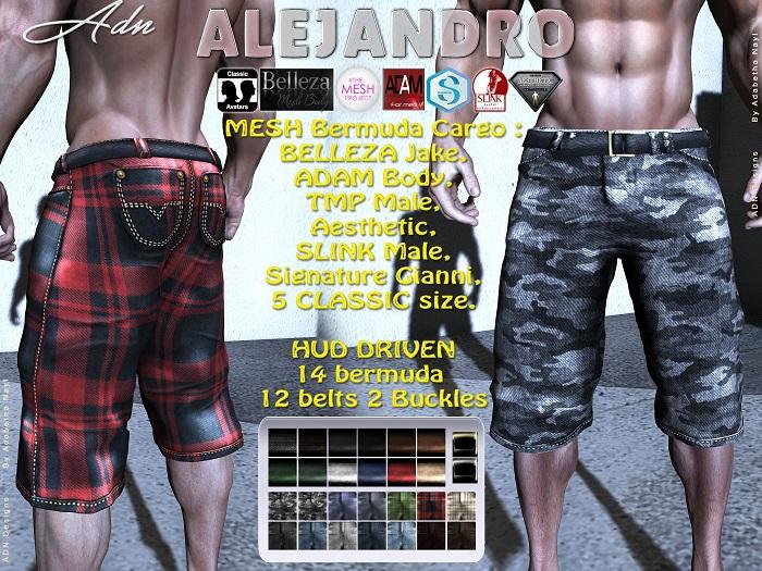 [AdN] ALEJANDRO BELLEZA Jake ADAM AESTHETIC SLINK Male SIGNATURE Gianni TMP CLASSIC avatar