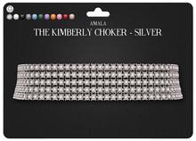 Amala - The Kimberly Choker - Silver