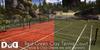 """Clay Court green/red"" c/m 100% original mesh"