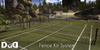 """Fence System Kit Clay Court"" c/m 100% original mesh"