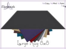 {Elementals} Large Rug w/ Colour Change {Decor}