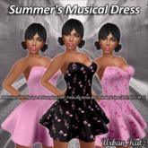 Summer's Musical Dress