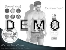 [ DEMO ] Angel DELUXE - Pack 1 Beach Trunks - FITMESH + TMP + SLINK + SIGNATURE