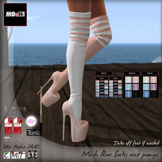 MOoH! Demo Rae socks and pumps (Add)