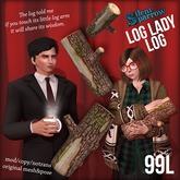 ~silentsparrow~ Log Lady Log (Wearable) Twin Peaks Fan