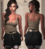 """""""BeatriceStyle"""" - Tank Top & Frill Skirt Outfit"""