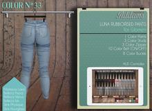 "Addams ""Luna"" Womens Mesh Pants -Maitreya, Belleza, Slink #33"