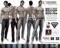 Jonathan male jeans lf design Demo