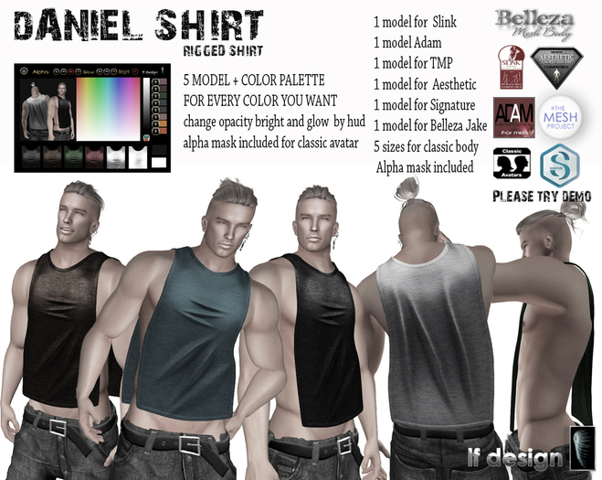 [lf design] Daniel Shirt Demo