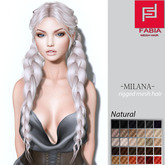 -FABIA- Mesh Hair  <Milana> Natural Tones