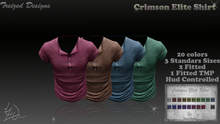 Treized Designs Crimson Elite Shirt FATPACK,3 Standard,tmp,fittedsizes,20 colors