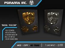 "PsiNanna, Inc. ""Basal Vulcan"" Polygon Wall Art"