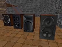box sound decorative woofer speaker 4 pack