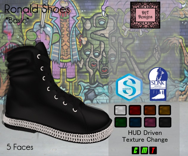 [D2T Designs] Ronald Basic Shoes