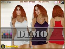 BS Bia Knit Dress DEMO - Belleza Freya Isis Venus Slink Hourglass Physique Maitreya TMP Classic Avatars