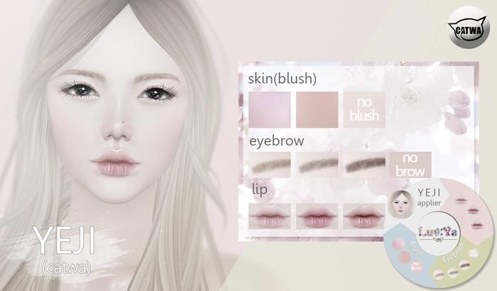 [Luv:Ya] YEJI skin DEMO (for catwa)