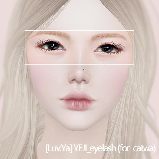 [Luv:Ya] YEJI_eyelash (for catwa)