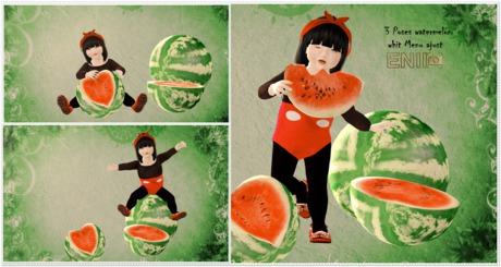 ENIIPose-Refreshing watermelon