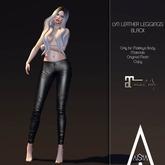 .AiShA. Lyn Leather Legging Black (Maitreya)