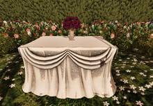 Aphrodite - Romantic Wedding - Animated Altar onlywith poses for Bride, Groom & minister if any.