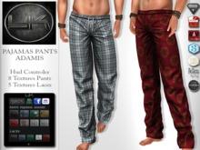 YACK - Mens MESH Pajama Pants Adamis