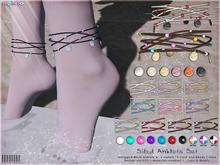 [ bubble ] Sibyl Anklet Set