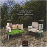 OneDecor:: Garden Armchair Green. box