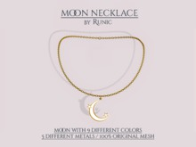 .: Runic :. Moon Necklace