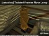 [satus Inc] Twisted Frames Floor Lamp