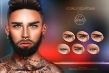 IDTTY Faces - Real Eyebrows