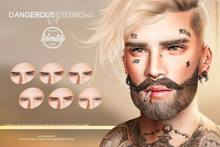 IDTTY Faces - Dangerous Eyebrows
