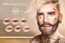 IDTTY Faces - Dangerous Eyebrows [LEFT]