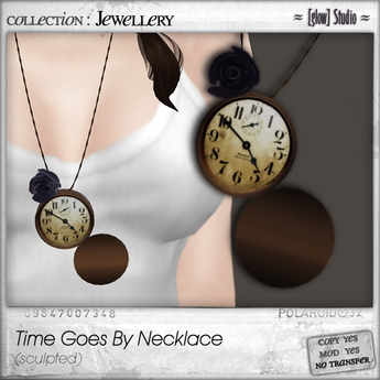 [ glow ] studio - Time Goes By necklace (boxed)